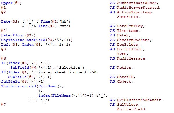 QlikView aliases, indent or not? The Qlik Fix!