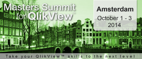Masters Summit for QlikView - Amsterdam