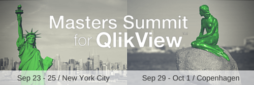Masters Summit for QlikView - 2015 locations