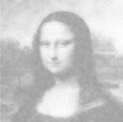 Mona Lisa in QlikView - Oh no the horror, it's only black and white!!!! Save us MicroStrategy!!!!! ;)