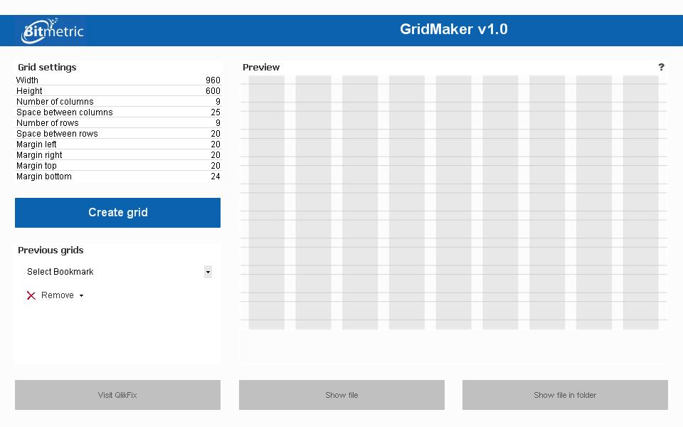 GridMaker v1.0