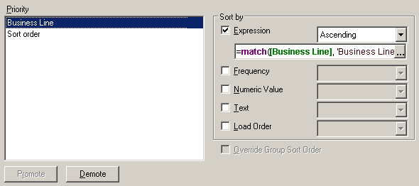 Sort options in QlikView