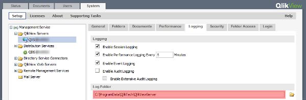 Moving QlikView Server log files - The Qlik Fix! The Qlik Fix!