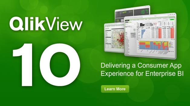 QlikView 10 blog round-up